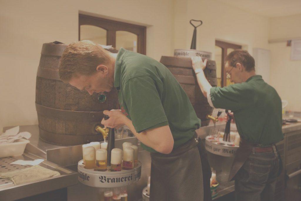 Brauerei zur Malzmühle Bierfass