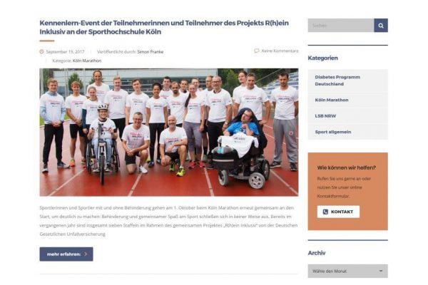 Sportvermarkter Design Blog by Picnature